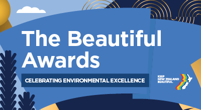 Keep New Zealand Beautiful announce winners at this year's Beautiful Awards