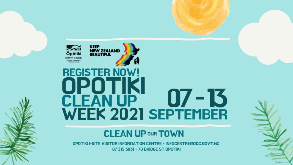 Opotiki Clean Up Week 2021